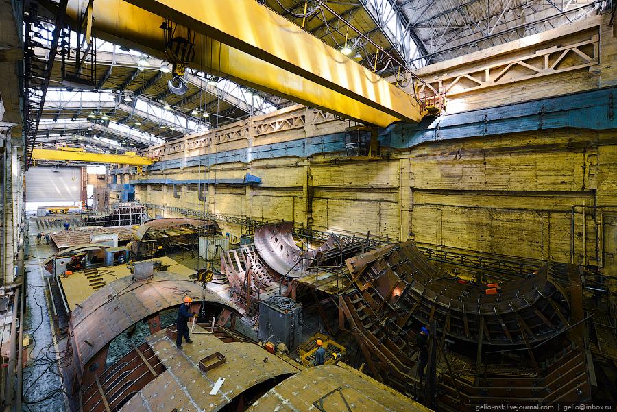 завод подводных лодок в москве