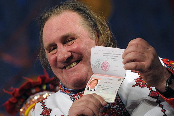 Жерар Депардье отсудил у мосвички полмиллиона рублей