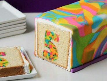 Кекс на детский день рождения (diy)