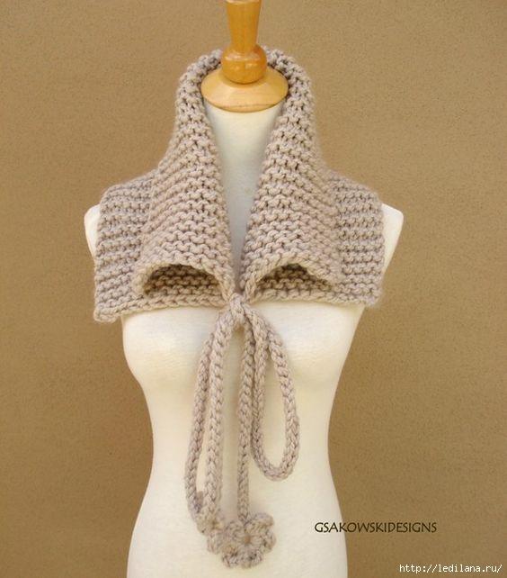 Необычные шарфы. Идеи