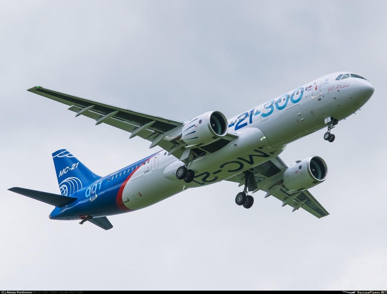 Россия продвигает в Индонезию самолет МС-21