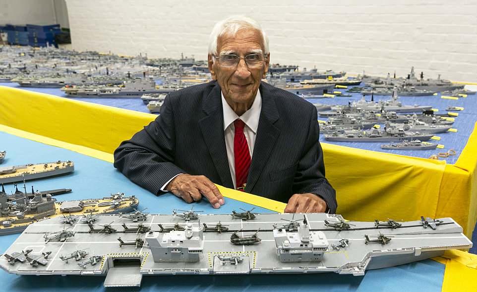 Грандиозная коллекция кораблей-моделей