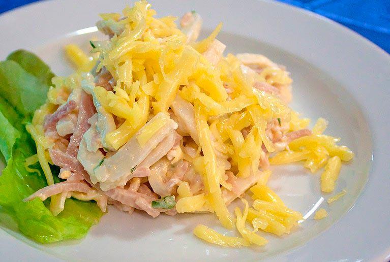 Топ-10 самых БЫСТРЫХ салатов…