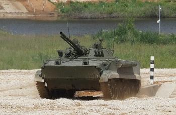 На подмосковном полигоне презентовали боевые машины производства тульского КБП