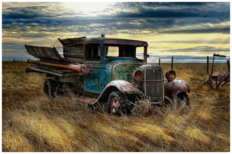 Заброшенные автомобили - кладбища ушедшей красоты