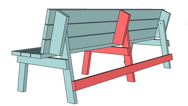 Как сделать деревянную скамейку со спинкой своими руками