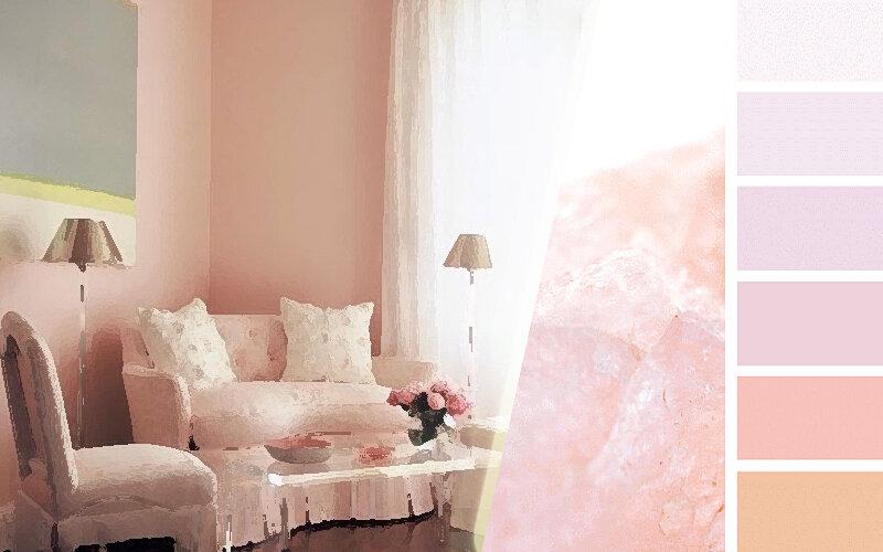 Пудровый цвет в интерьере: великолепное решение для любого помещения: отделка стен, текстиль, декор - идеи для вдохновения