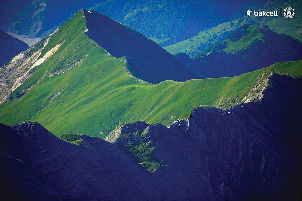Азербайджан с высоты птичьего полета