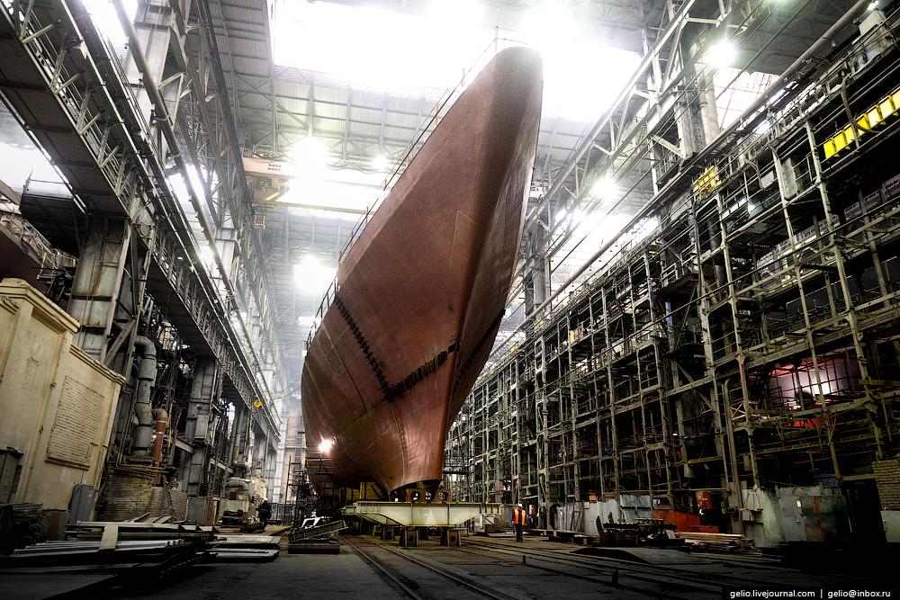 Объединённая судостроительная корпорация (ОСК): строительство российского флота