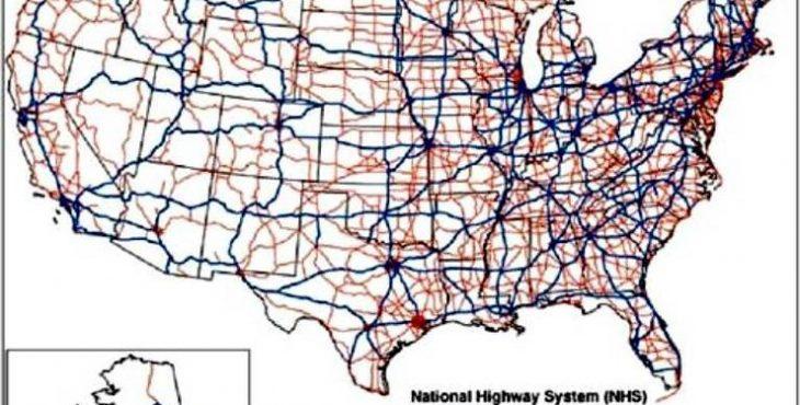 Дороги США: Как строятся и с…
