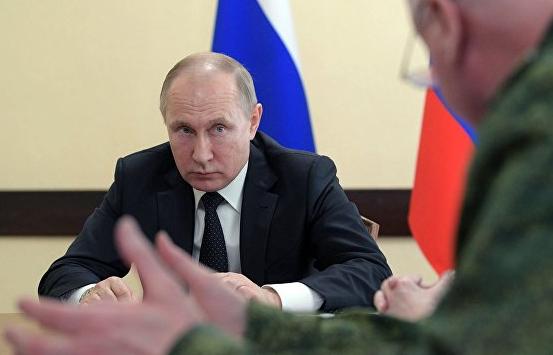 Путин назвал халатность и разгильдяйство причинами трагедии в Кемерово
