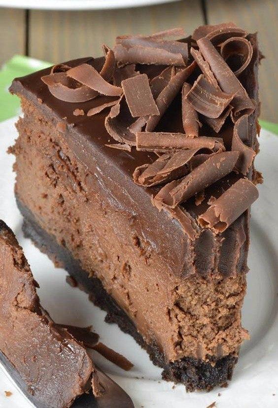 ДЕСЕРТНЫЙ ВИХРЬ.  Шоколадный чизкейк