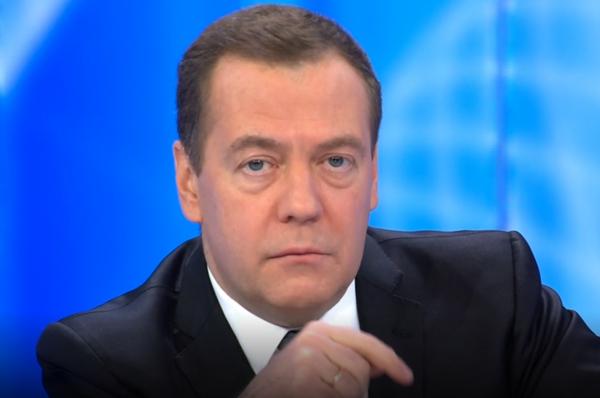 Дмитрий Медведев весьма ориг…