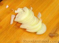 Фото приготовления рецепта: Шпинатные блинчики с начинкой из сельди - шаг №6