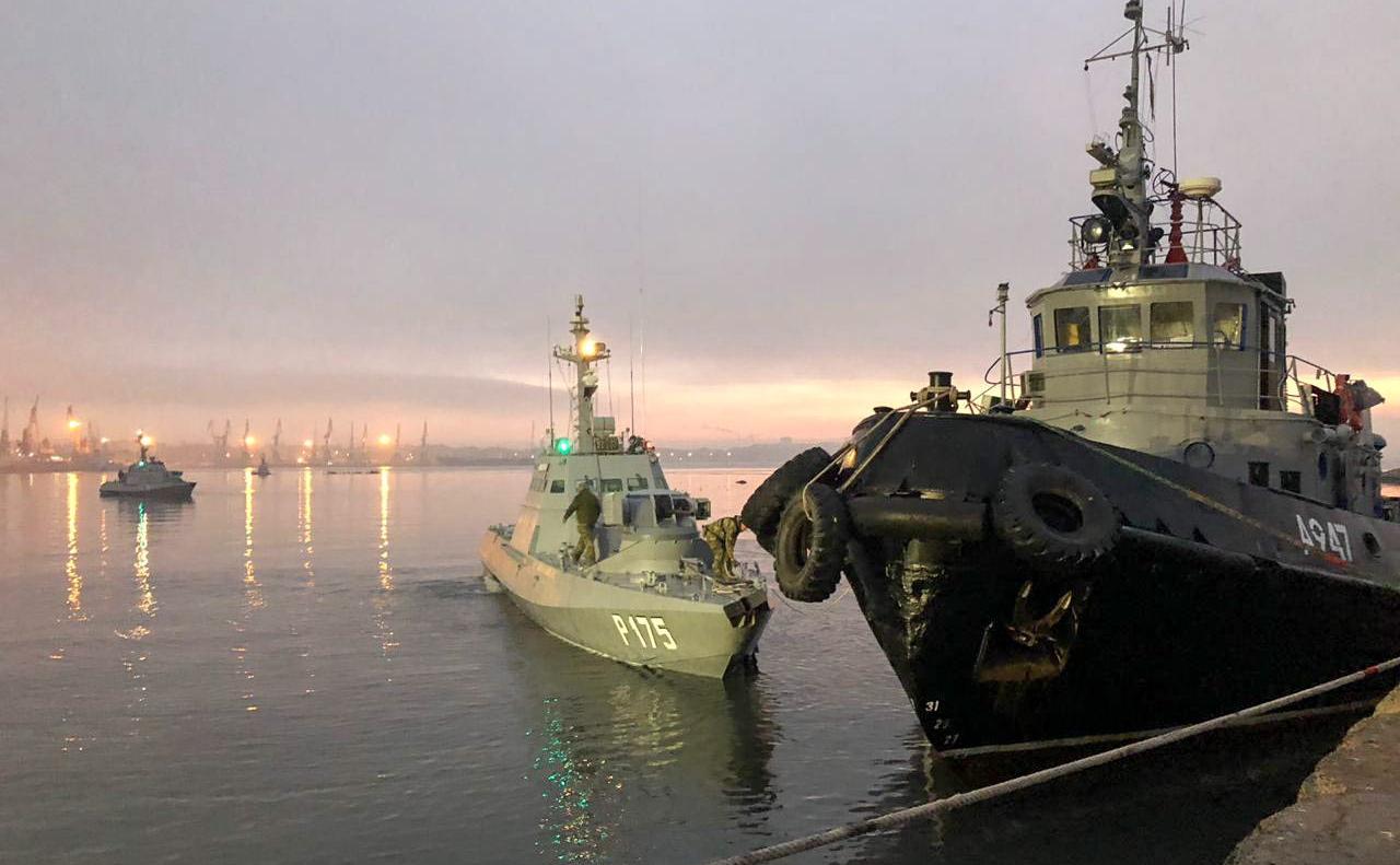 Украинских моряков посадят н…