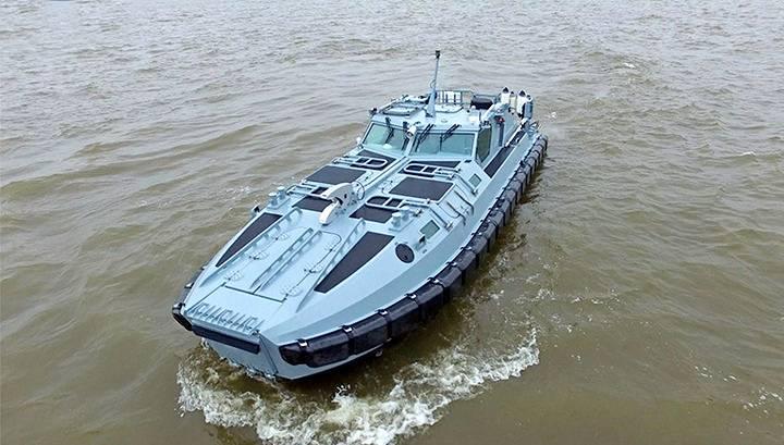Броневик на воде: «катер мгновенного штурма» проекта 02800