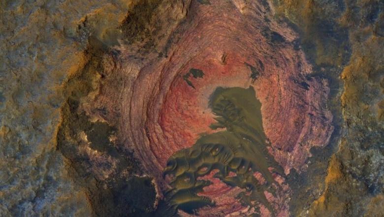 NASA опубликовало уникальный снимок поверхности Марса