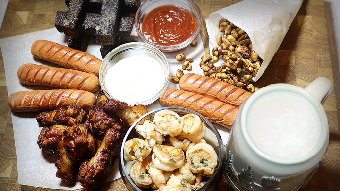 5 закусок к пиву приготовленных на сковороде Еда, Рецепт, Закуска к пиву, Закуска, Длиннопост, Видео