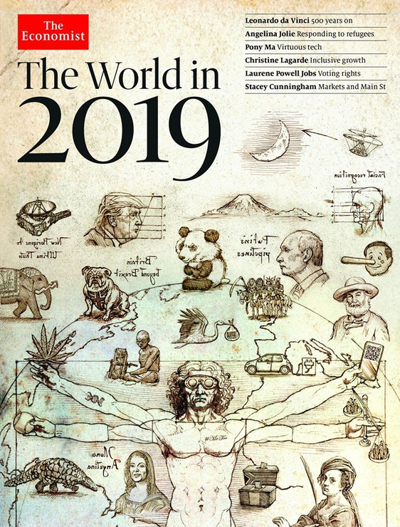 Путин и всадники Апокалипсиса: The Economist сделал прогноз на 2019 год