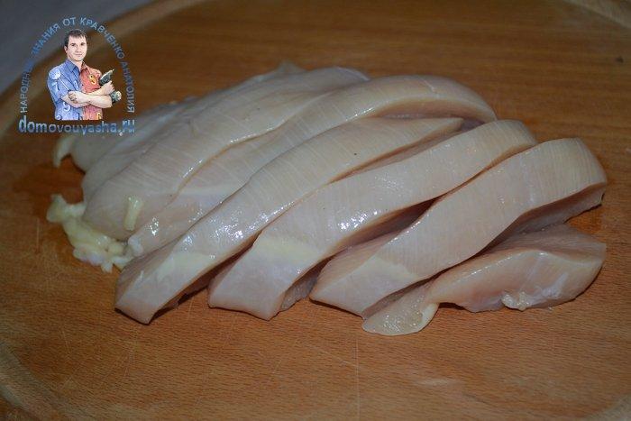 Куриные отбивные в сухарях на сковороде