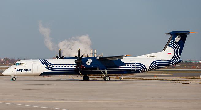 «Аврора» получила пятый самолет Bombardier Dash 8 Q400