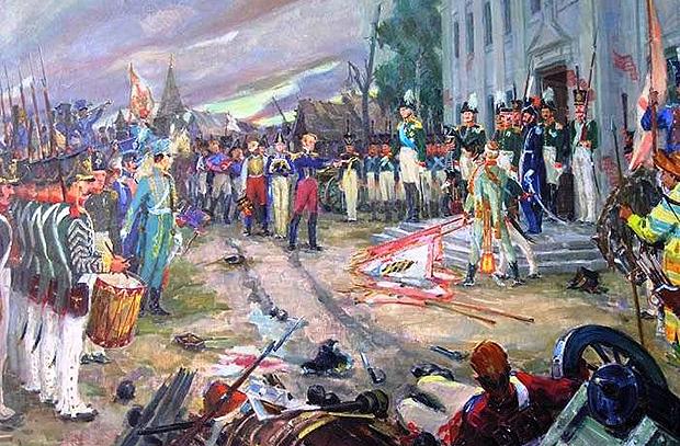 Первая победа 1812 года