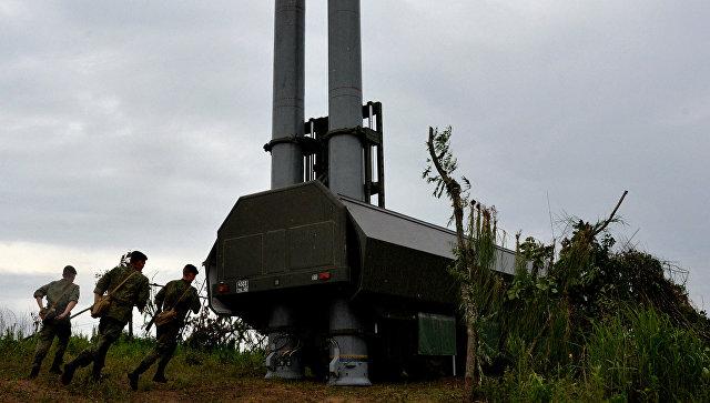 На Камчатке развернули батарею ракетных комплексов «Бастион»