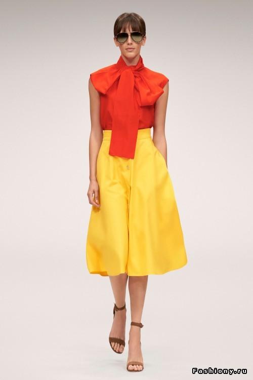 Коллекция модной одежды Escada весна-лето 2018