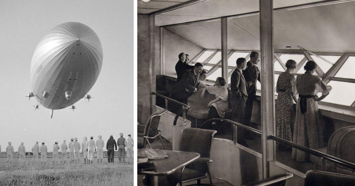 The Inside Of Hindenburg Zeppelin In 32 Pics