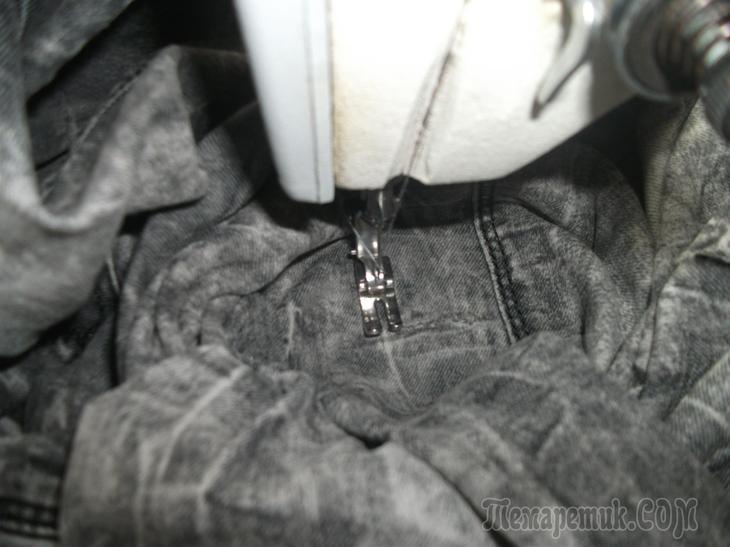 Заштопаем джинсы?