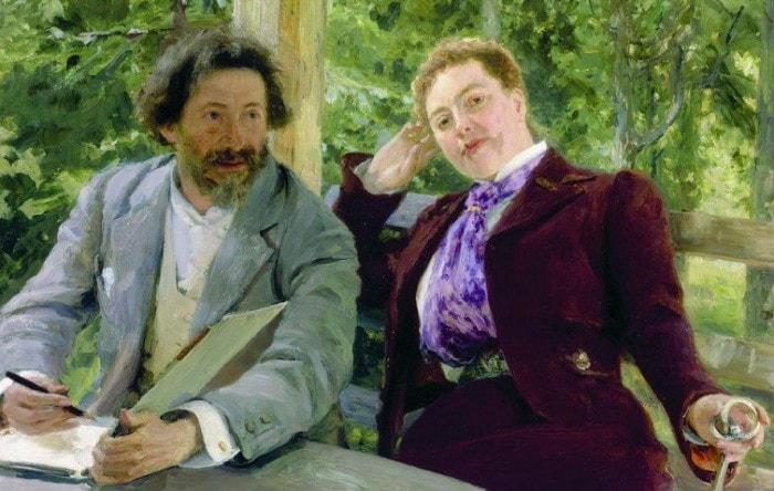 Вера Репина: Не простые годы  рядом с гением