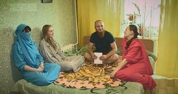 Как живется Ивану и его женам в православном гареме: у «султана» 4 жены и 13 детей