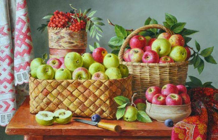 Ароматные натюрморты и душевные пейзажи: Картины в стиле русский реализм