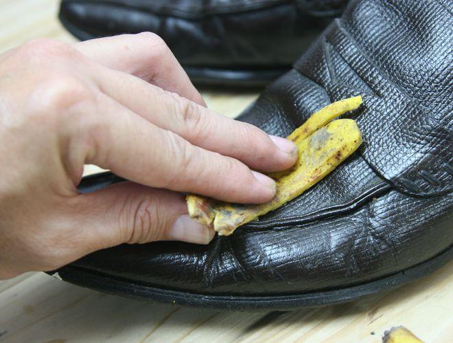 для ухода за кожаной обувью