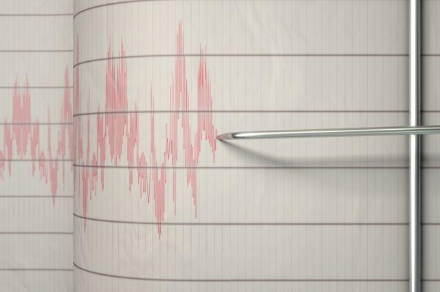 В Новороссийске произошло землетрясение магнитудой 4
