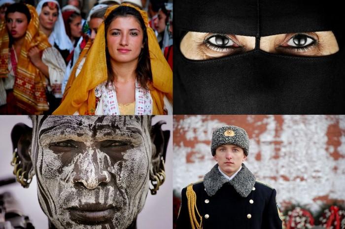 Удивительные лица мира