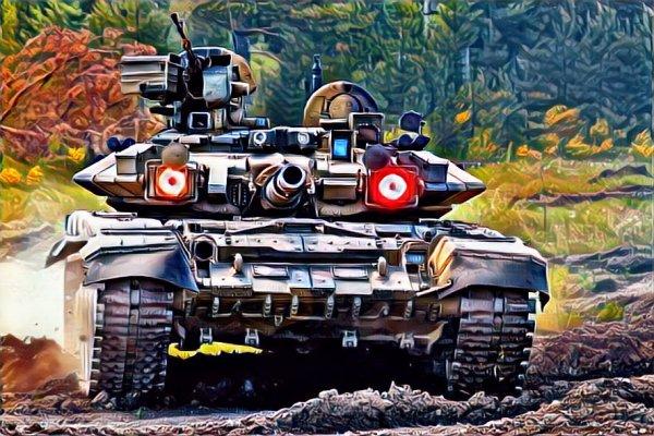 """Будущее наступило: Русские необитаемые танки против турецких """"Леопардов"""""""