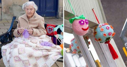 104-летняя бабушка рукодельн…