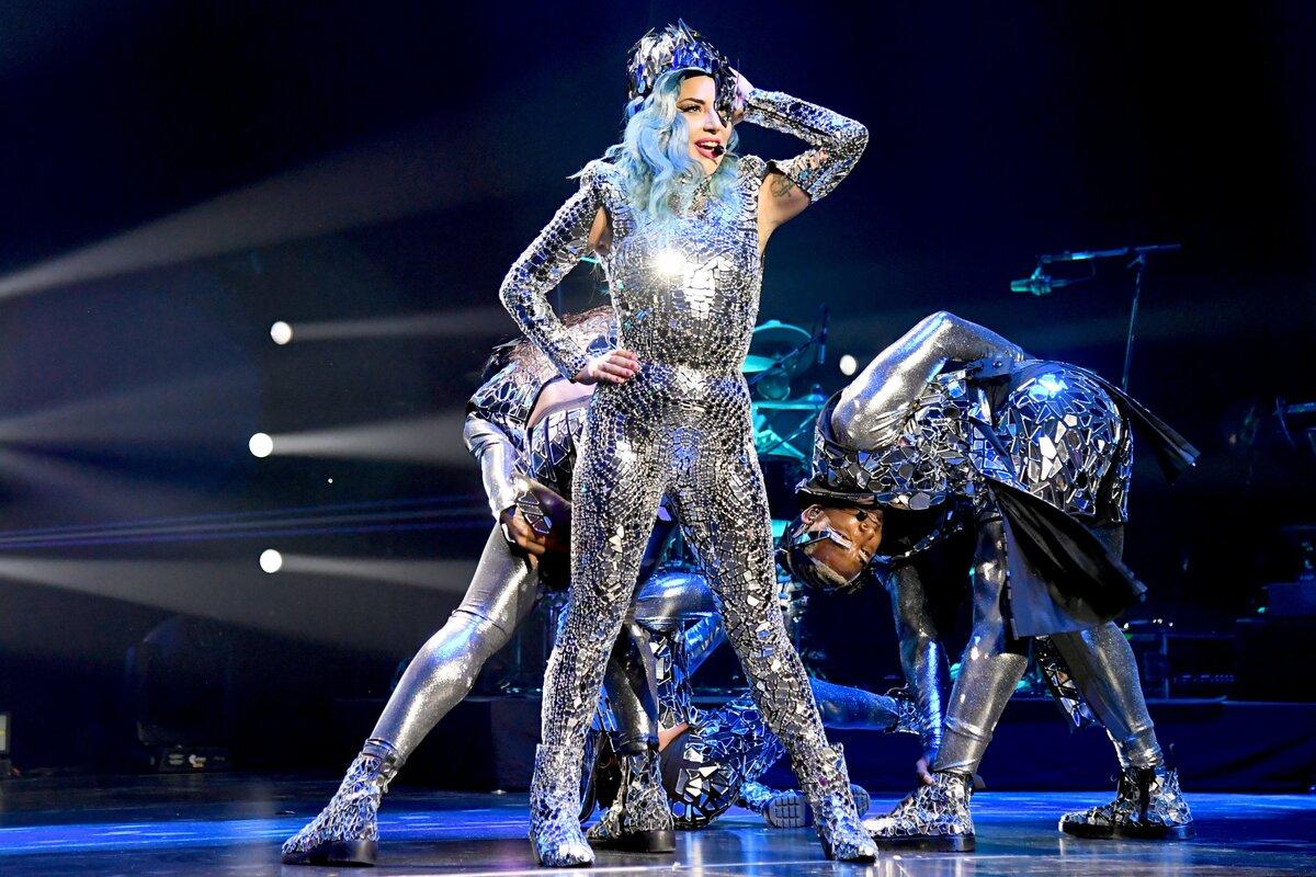 Леди Гага на концерте в Майами. /Фото: media.vogue.co.uk