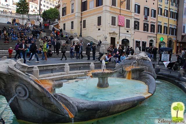 Испанская лестница в Риме - 138 ступеней восторга - 9