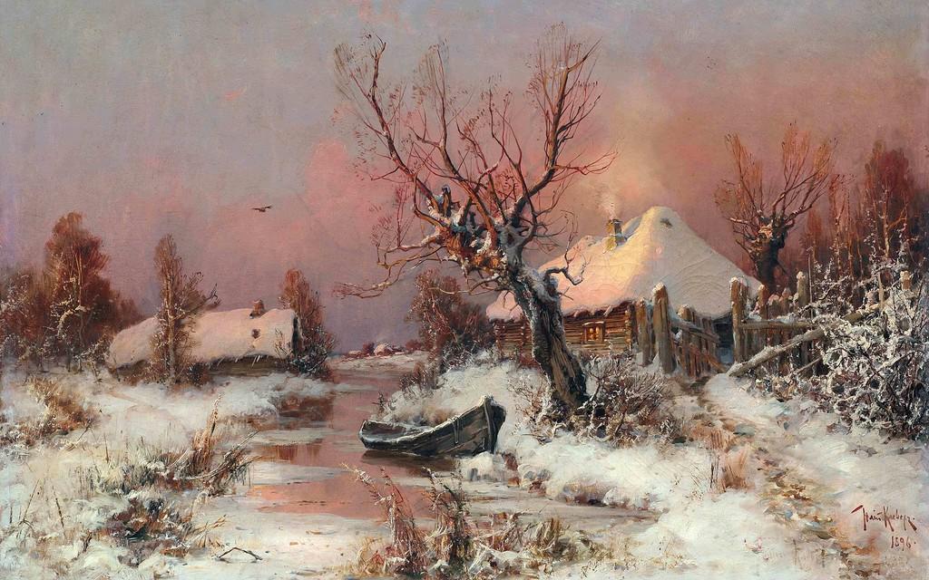 Юлий Клевер  -  любимый художник  царской семьи