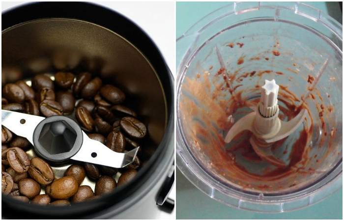 Как быстро и просто почистить кофемолку или кухонный комбайн