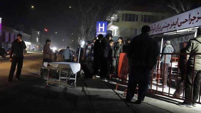 Ответственность завзрыв вКабуле уGreen Village взяли насебя талибы