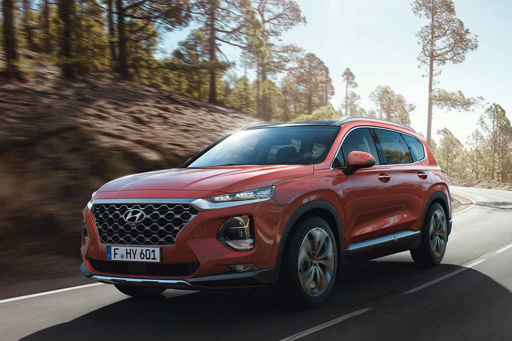 Новый Hyundai Santa Fe дебютирует на Московском автосалоне