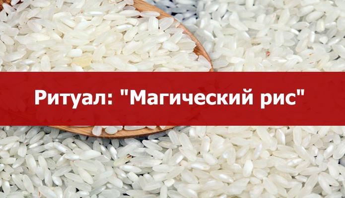 """""""МАГИЧЕСКИЙ РИС"""""""