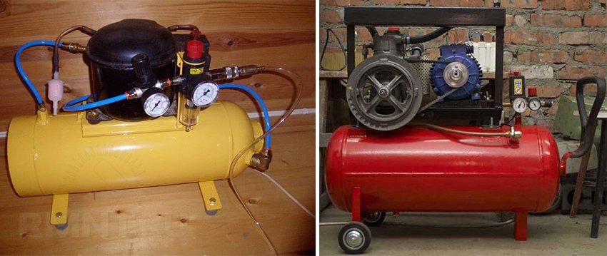 Как сделать газовый компрессор своими руками