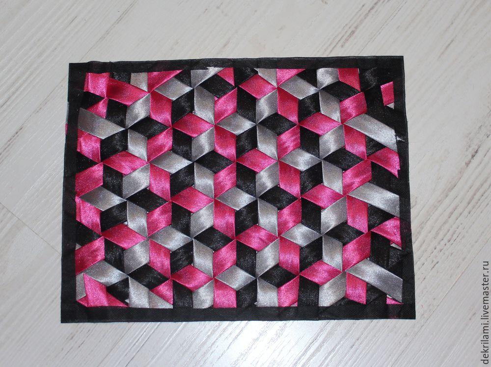 Техника «плетение» в пэчворке
