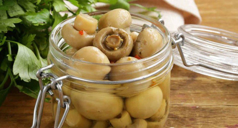 Замаринуй грибы для праздничного стола за 10 минут