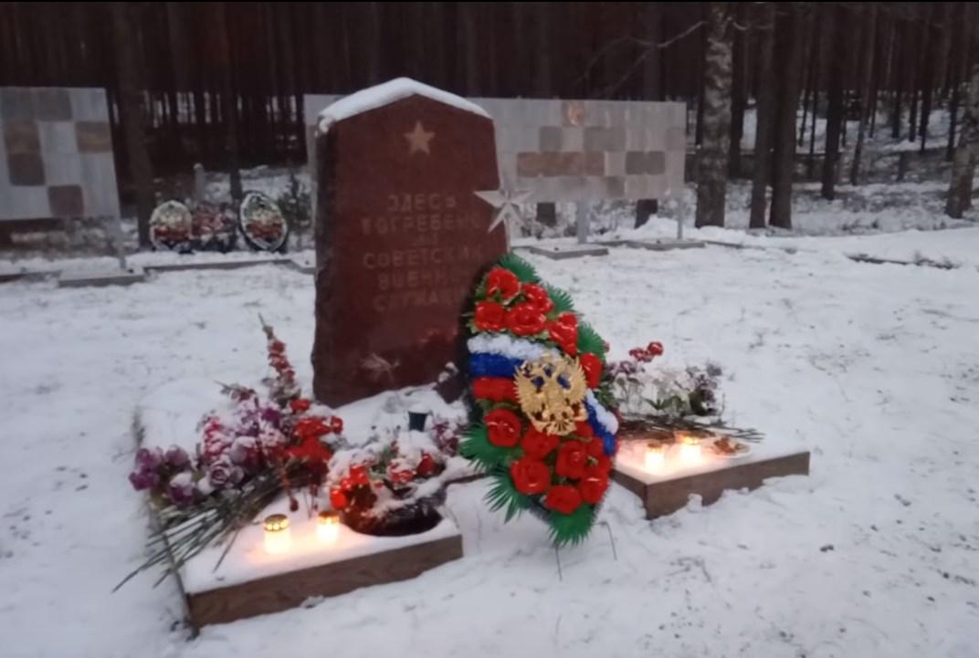 Братские могилы в Пиексямяки
