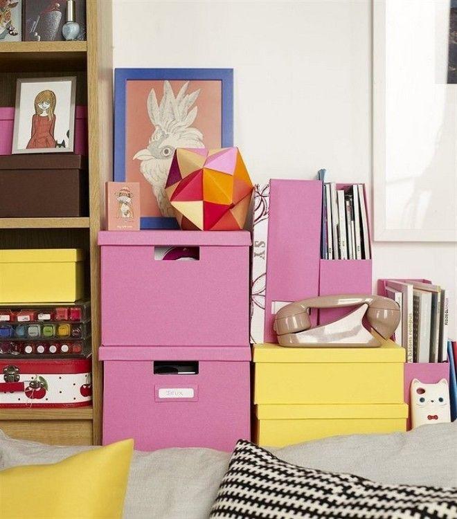 Коробки маленькой квартире необходимы Но только не скучные